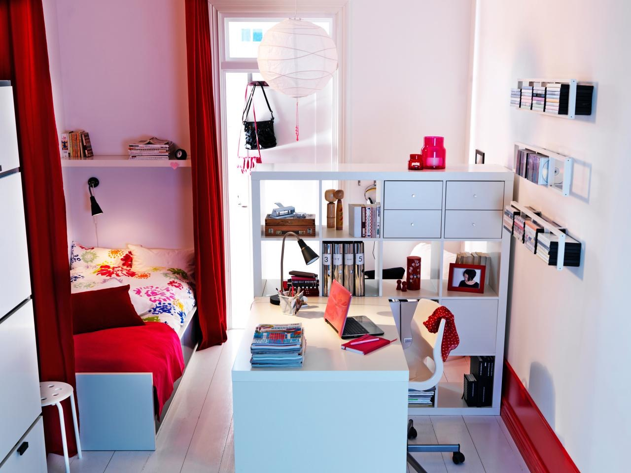 Creative organization ideas for college dorm rooms for Ikea room ideas 2015
